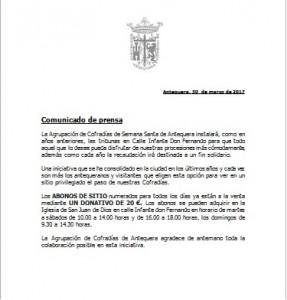 comunicado prensa agrup 2017
